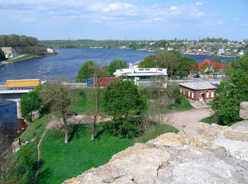 Вид на реку Нарва (Нарова)