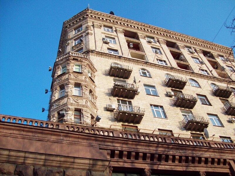 Балконы Крещатика