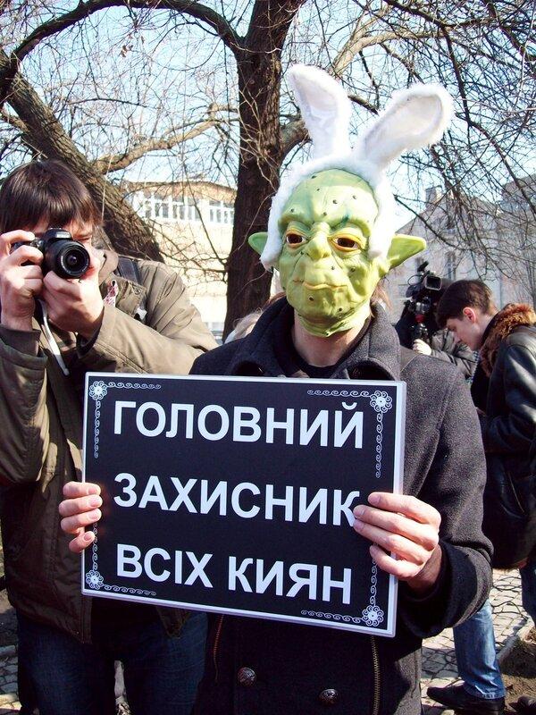 Сатира на Арсения Яценюка