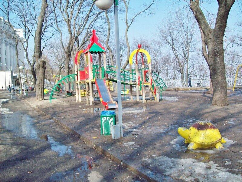 Детская площадка Владимирской горки