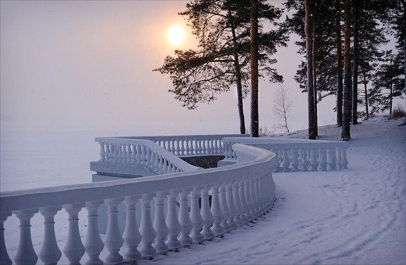 Картинки зимнее утро с вв кодами около