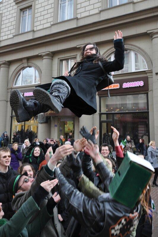 День святого Патрика в Москве