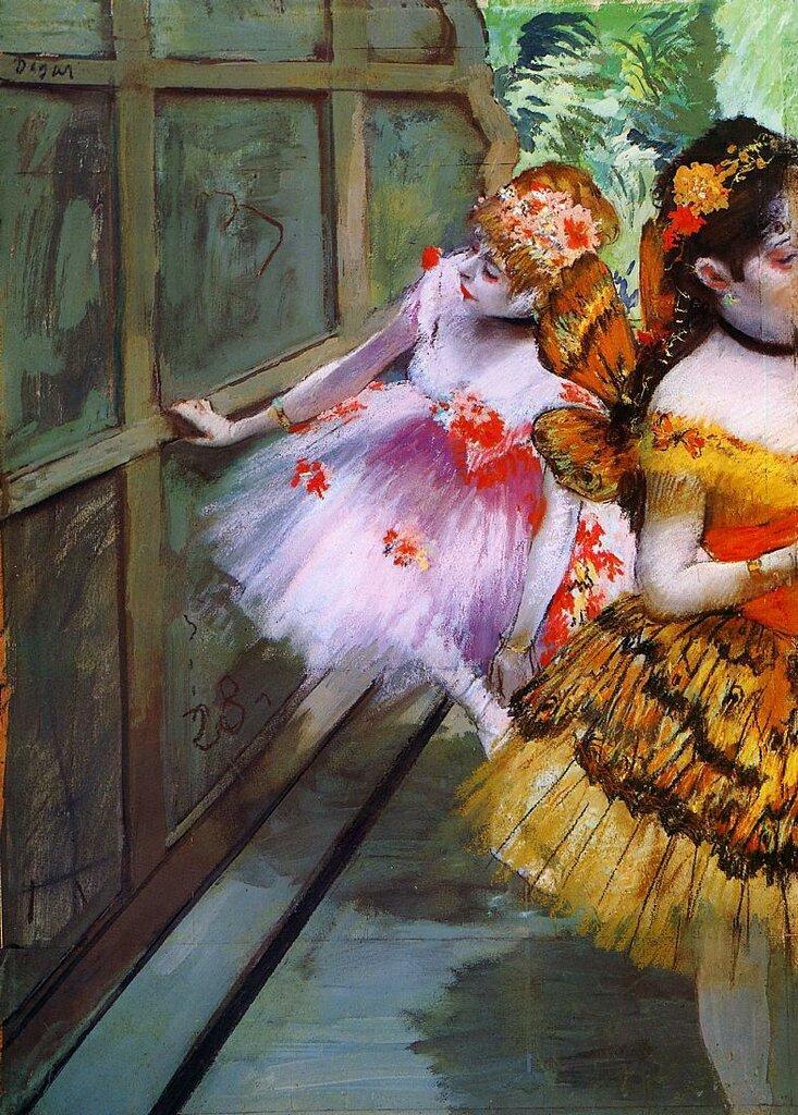 Edgar Degas Ballet Dancers in Butterfly Costumes1880