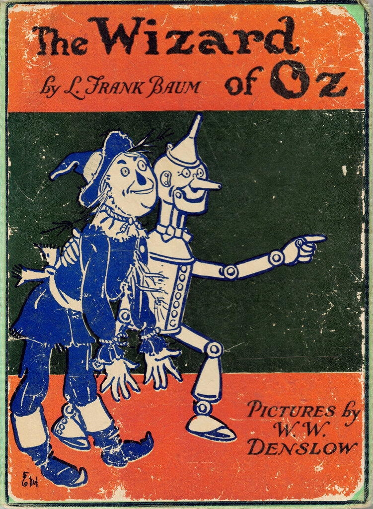 The Wizard of Oz,1903 Illustrations by W.W. Denslow.