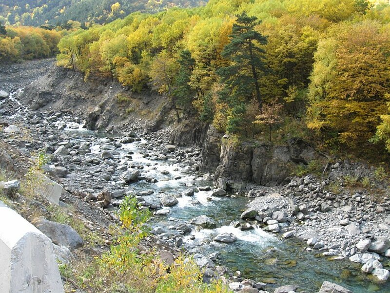 Транскавказская автомагистраль, Алагирское ущелье, река Ардон. (IMG_9726.JPG)