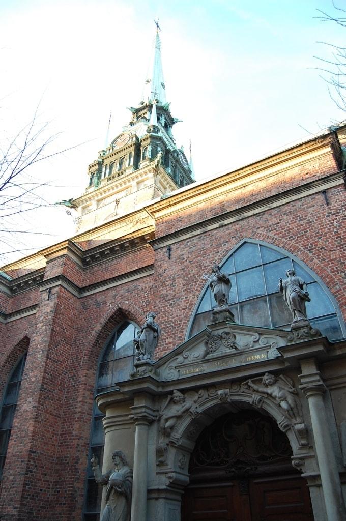 Церковь Riddarholmskyrkan (Риддархольмсчюркан)