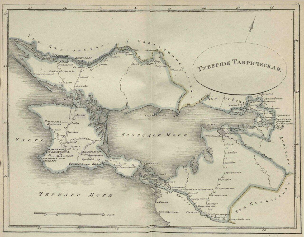 30. Таврическая губерния