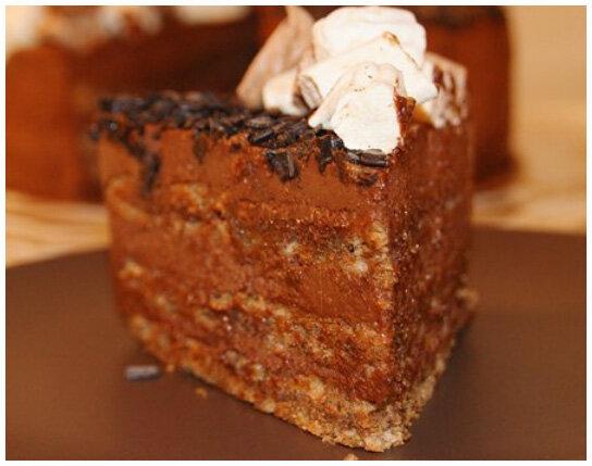 шоколадный ореховый торт фото рецепт