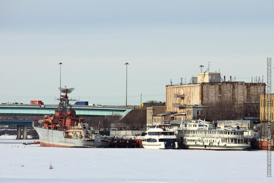 Сторожевой корабль «Дружный». Дизель-электроход «Князь Воронцов»