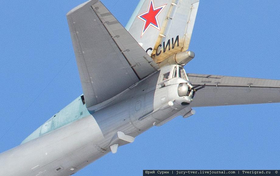 Ту-95  над Тверью