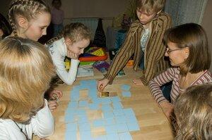 Играем с родителями в игру на запоминание Мемори
