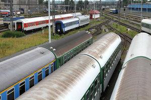 В Чехии столкнулись два пассажирских поезда, есть раненные