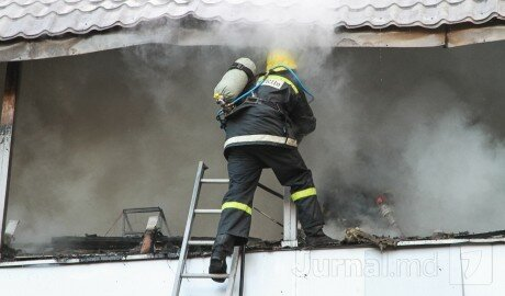 В одной из квартир города Крикова вспыхнул пожар