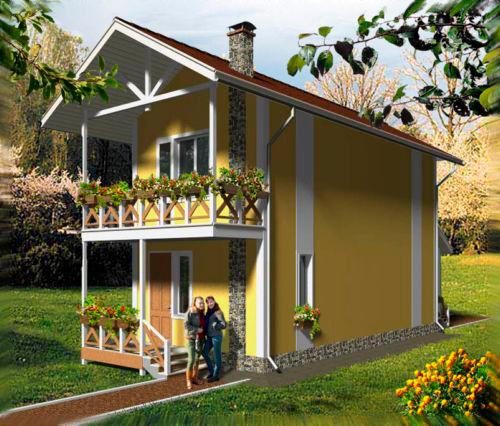 Частный дом своими руками