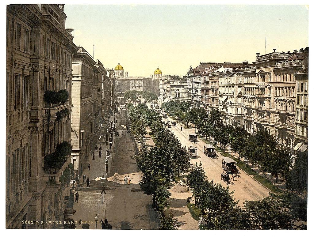 Вена в 1890 - 1900 годах. 0_60386_b2a5ac71_orig