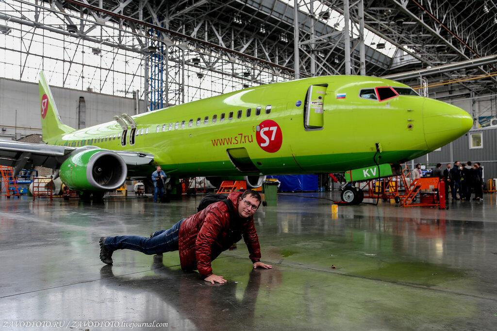 Авиакомпания S7 переделала  часть своих самолётов в грузовые