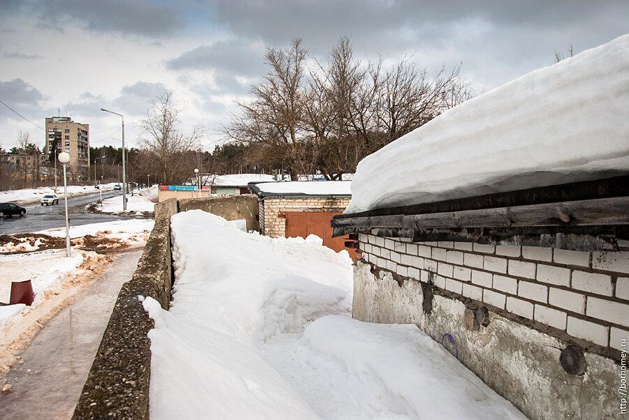 высота снежного покрова Саров