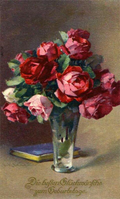 К. Кляйн. Розы и книга.