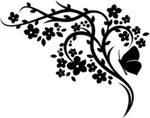 Цветы +деревья