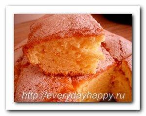 Пышный пирог с апельсиновой цедрой