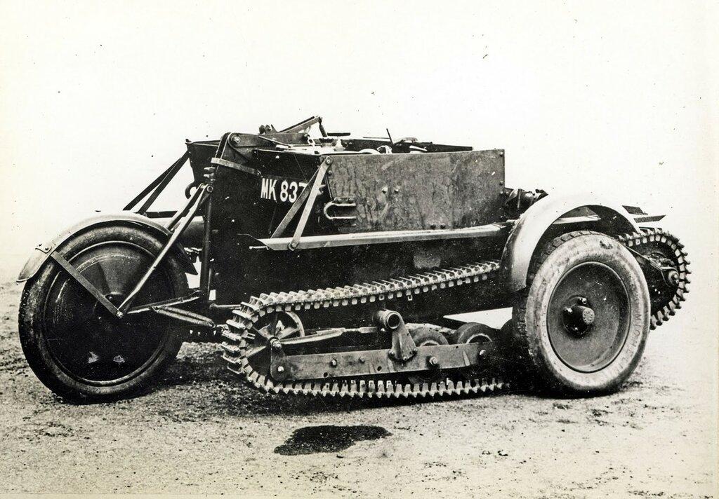Carden-Loyd Mark V (Two man wheel cum track), 1927