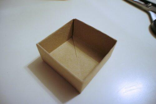 Как сделать коробочку своими руками без клея