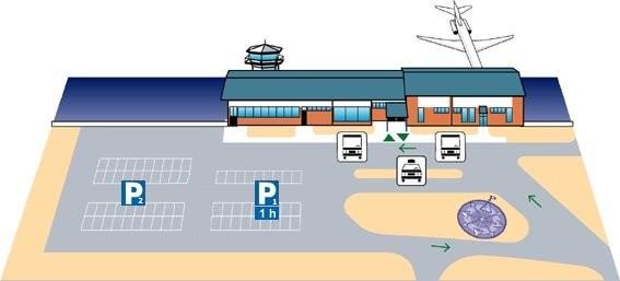 Схема аэропорта Лаппеенранта :
