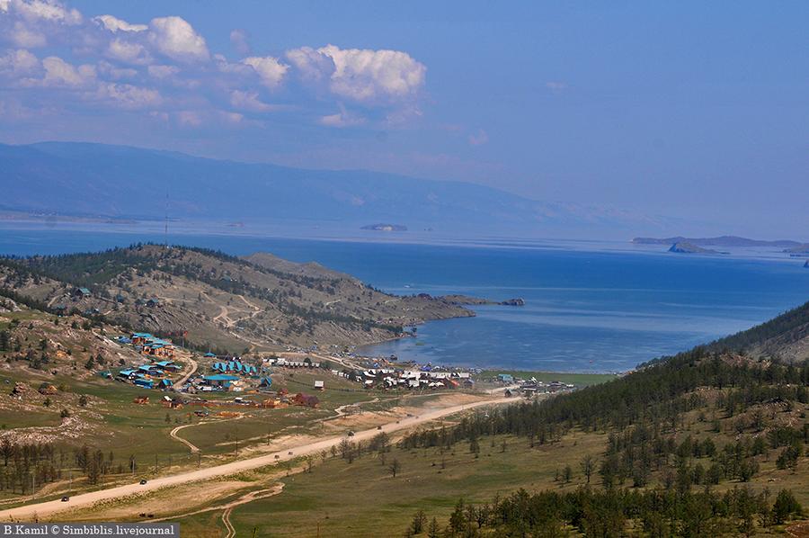 Мы подъехали к Байкалу
