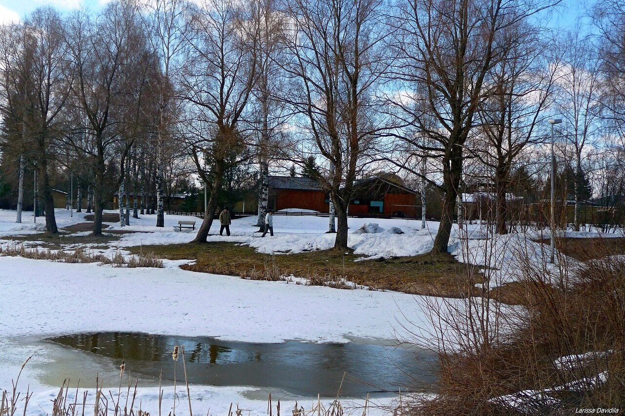 31 марта 2012, в парке.