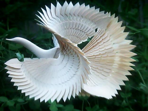 Птицы из своими руками мастер класс