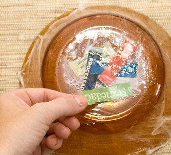 Пасхальное гнёздышко в технике папье-маше
