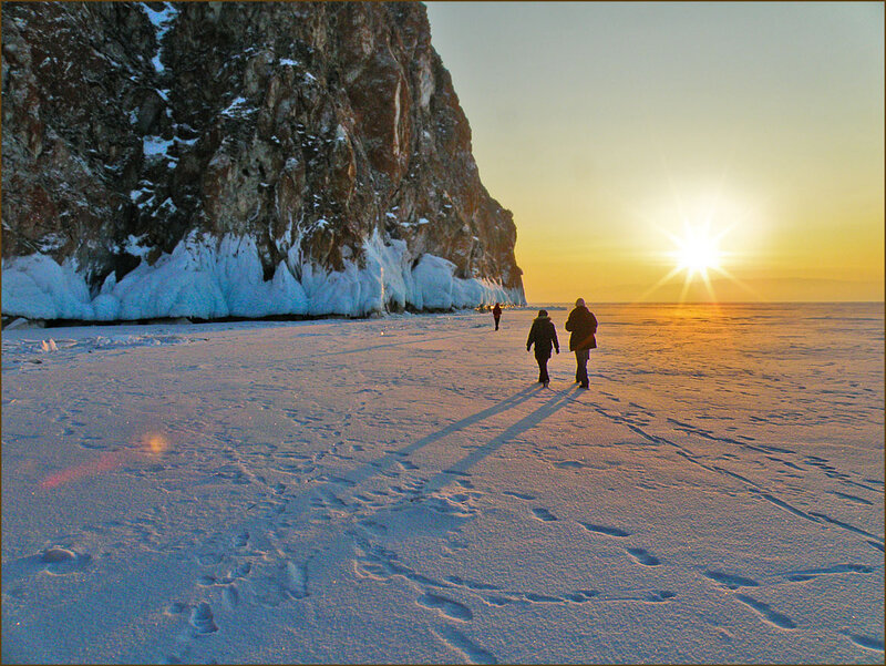 Вечер на Байкале