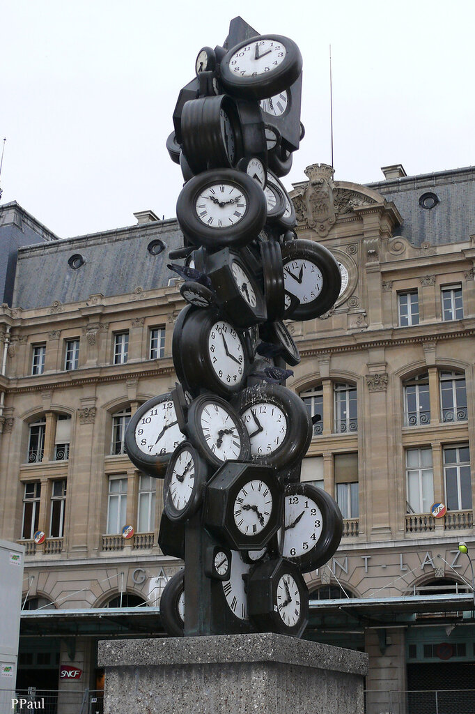 Paris St Lasare 2008