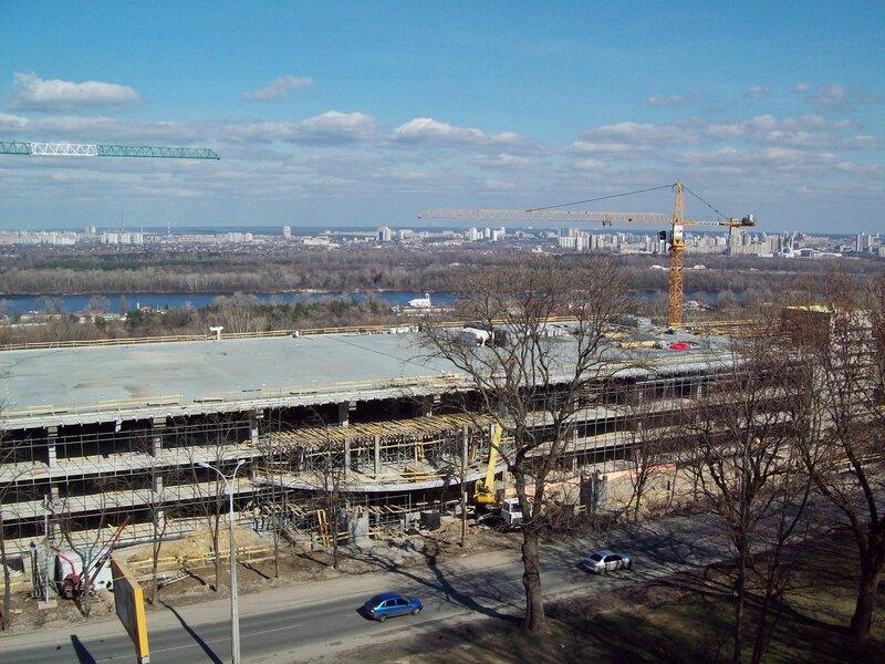 Вертолетная площадка Януковича