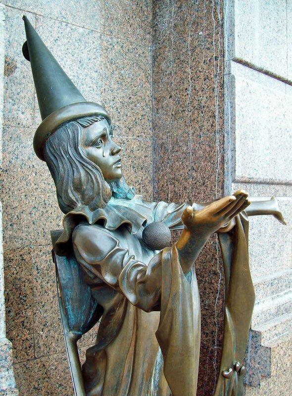 Скульптура Пьерро