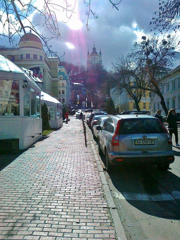 улица андреевская