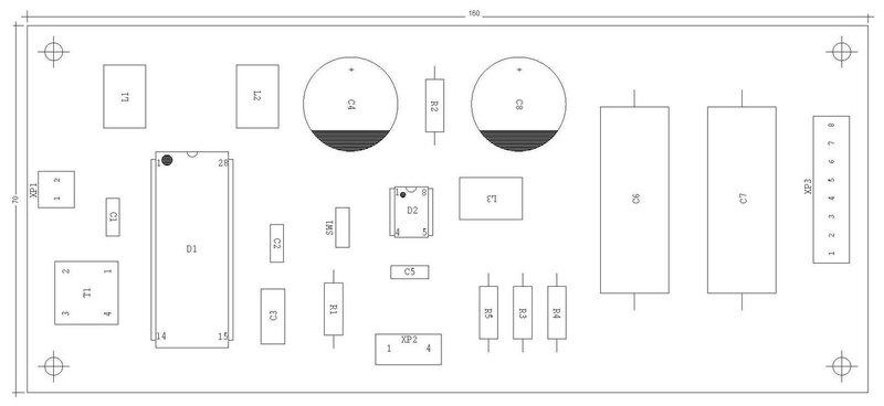 Diy Kit Classical Nos Dac Cs8412 Cp Tda1543 With Pcb