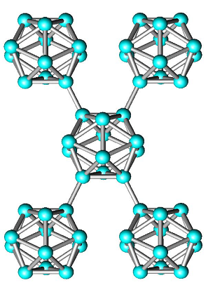 Строение кристаллического бора