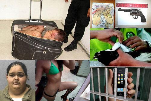 10 необычных уловок заключенных