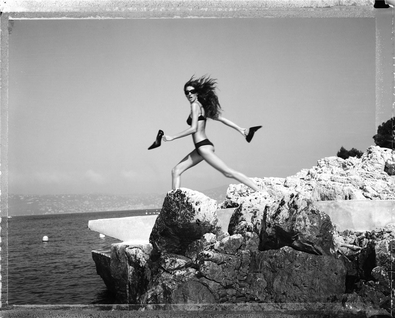 Gisele Bundchen / Жизель Бюндхен, фотограф Michel Comte / 1999 год