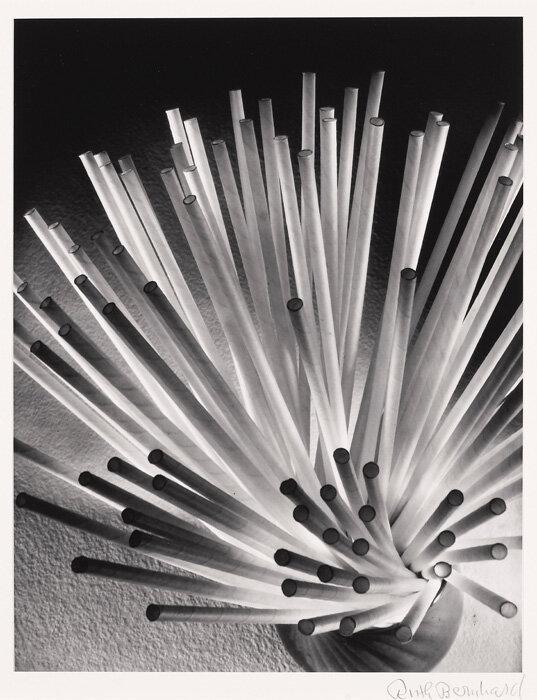 photo by Ruth Bernhard.Straws, 1930