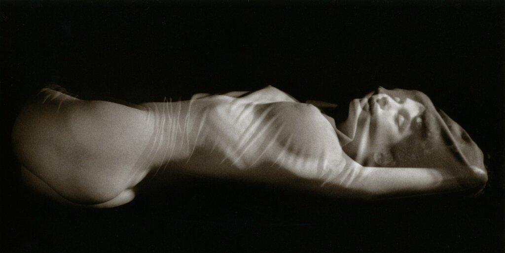 photo by Ruth Bernhard.Silk, 1968