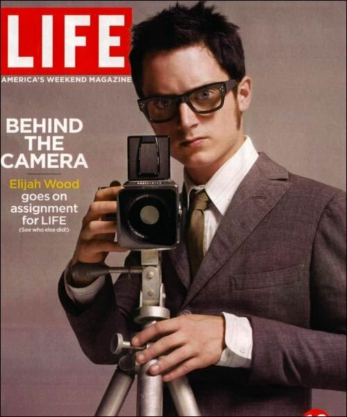 Elijah Wood with a Hasselblad