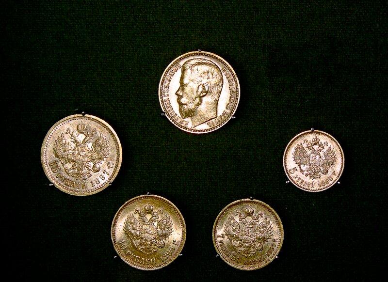 Имперские денежки и чарки