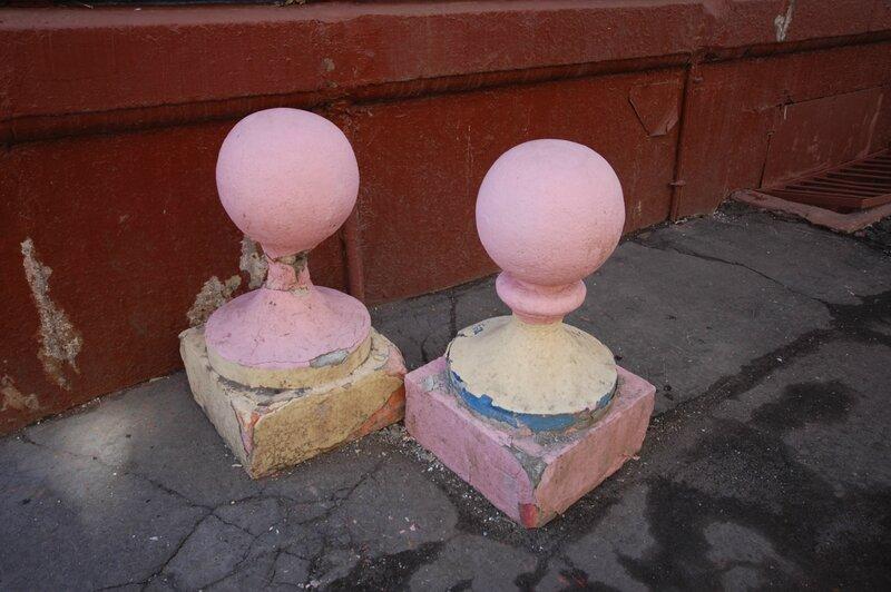 Как сделать бетонные шары своими руками 1