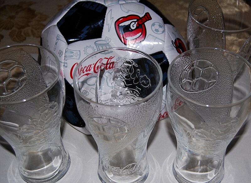 Призы от Кока-Колы