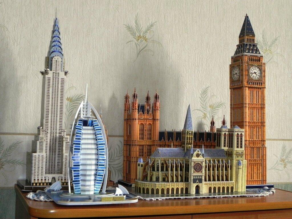 Изготовление макетов зданий из бумаги