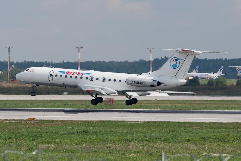 Туполев Ту-134А-3 (RA-65143) Ямал DSC2922