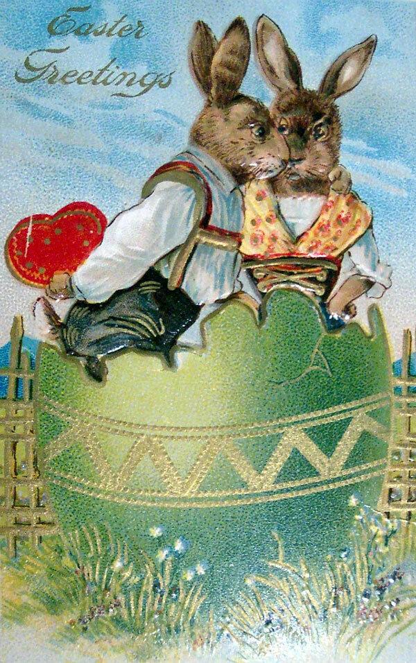 Смешные открытки с пасхой на немецком, открытки пасхой гифы