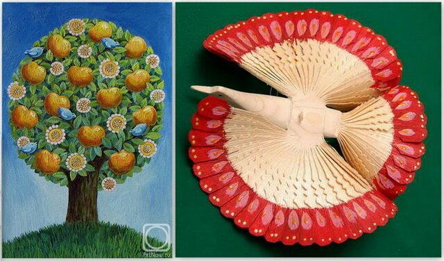 Кирилловские сувениры. Птица счастья